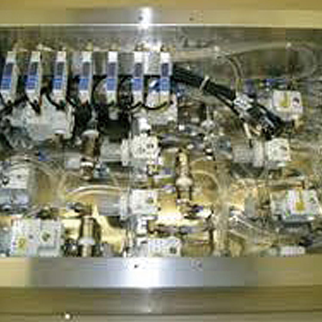 電気機械ユニット製作 エアー配管ユニット